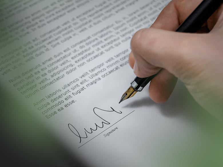 law-home-signature